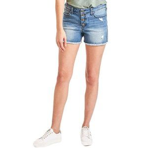 Dear John Melissa Denim Distressed Shorts in Penny